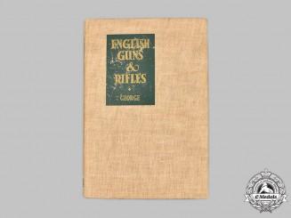 United Kingdom. English Guns & Rifles