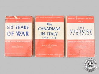 Canada. Official History of the Canadian Army in the Second World War, Three Volume Set