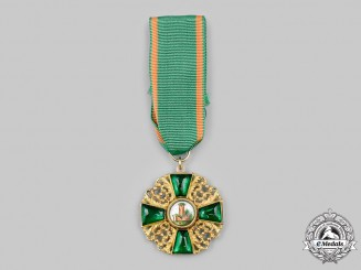Baden, Grand Duchy. An Order of the Zähringer Lion, I Class Knight's Cross in Gold, c.1890