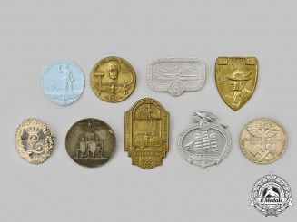 Germany, Third Reich. A Mixed Lot of Commemorative Badges