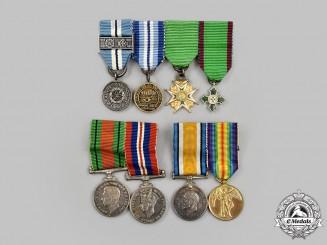 United Kingdom, Canada. Three Miniature Groups