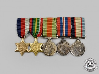 Australia, Commonwealth. A Second War Miniature Group of Five