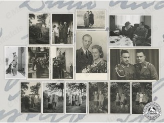 Germany, SS. A Lot of Private Wartime SS/SD Photos