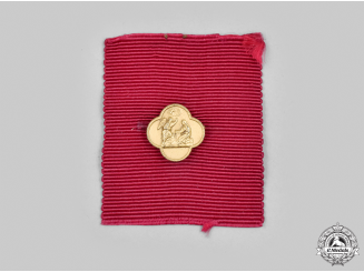 Italy, Kingdom. A Ribbon Bar of the Supreme Order of the Most Holy Annunciation
