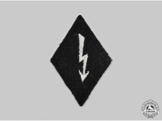 Germany, SS. A Waffen-SS Signals Personnel Sleeve Insignia