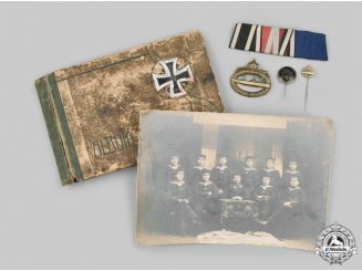 Germany, Imperial. A Lot of Awards & Photographs to a Sailor in U-Boat Service