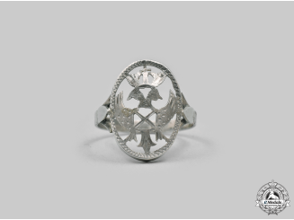 Spain, Facist State. A Falange Ring, c.1936