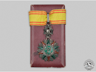 Tunisia, French Tunisia. An Order of Glory, III Class Commander, by Arthus Bertrand, c.1935