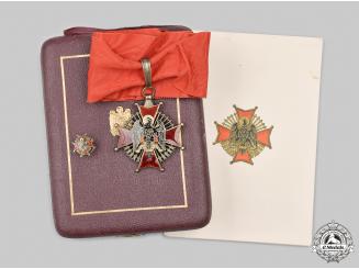 Spain, Fascist State. An Order of Cisneros, Commander, c.1950