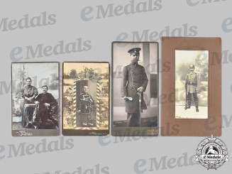 Germany, Imperial. A Lot of Army Cabinet Card Portraits