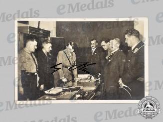 Germany, Third Reich. A Signed AH Sterneckerbräu Postcard