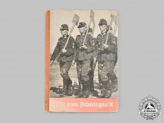 Germany, RAD. A Commemorative Service Book and Photo Album