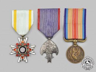 Japan, Empire, Manchukuo. Three Awards