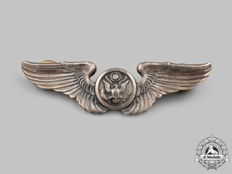 United States. An Army Air Force (USAAF) Aircrew Badge, c.1942