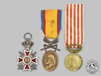 Romania, Kingdom. Three Awards