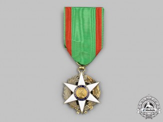 France, III Republic. An Order of Agricultural Merit, II Class Officer, Type I without Year Designation