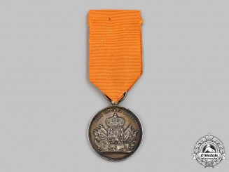 Netherlands, Kingdom. An Army Long Service Medal, II Class Silver Grade Medal, c.1880