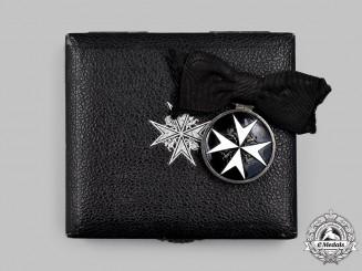United Kingdom. An Order of St. John, Serving Sister Breast Badge, Cased, Named to Mrs. Myra B. Bruce 1946