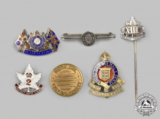 Canada. Six First and Second War Items