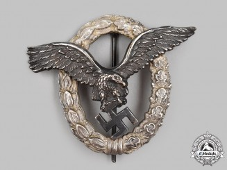Germany, Luftwaffe. A Pilot's Badge, by Gebrüder Schneider