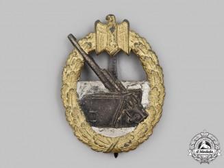 Germany, Kriegsmarine. A Coastal Artillery War Badge, by Schwerin & Sohn