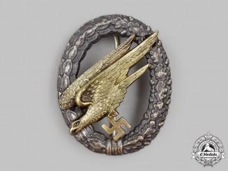 Germany, Luftwaffe. A Fallschirmjäger Badge, by Friedrich Linden