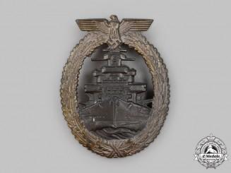 Germany, Kriegsmarine. A High Seas Fleet Badge, by Friedrich Orth