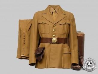 Germany, NSDAP. A Rare & Complete NSDAP Party Secretary Uniform by Hugo Boss