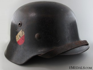 M35 Double Decal Luftwaffe Helmet