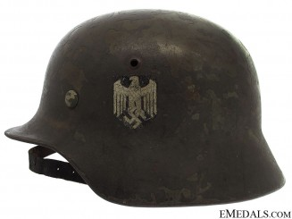 M35 Single Decal Combat Helmet