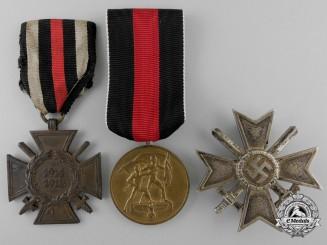 Three German Medals & Awards