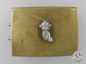 An Unidentified German Christian Organisation Belt Buckle