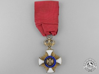 A French Produced Serbian Order of Karageorge; Fourth Class