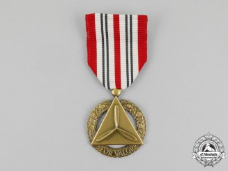A Civil Air Patrol Medal of Valor, Bronze Grade