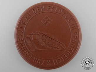 A Rare 1940 German French Campaign and the Taking of Paris Medal