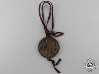 A German ULLR Patron Saint of Winter Sports Medal