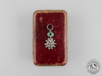 France, Third Republic. An Order of the Legion of Honour with Diamonds, c.1870