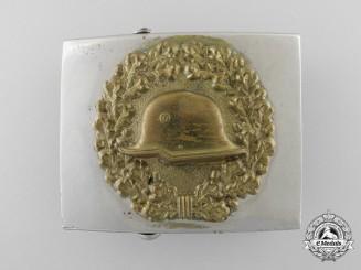 A Stahlhelm Veteran's Organization Belt Buckle