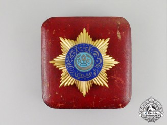 A Rare & Outstanding Order of the Noble Bukhara; Breast Star in Gold by D. Osipov