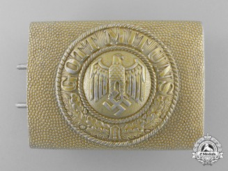 A Kriegsmarine Enlisted Man's Belt Buckle