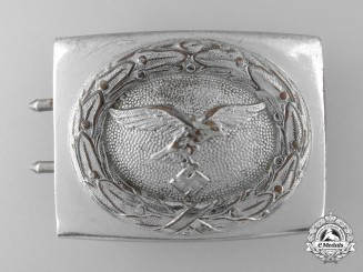 A 1942 Pattern Luftwaffe Enlisted Man's Belt Buckle by Richard Sieper & Söhne