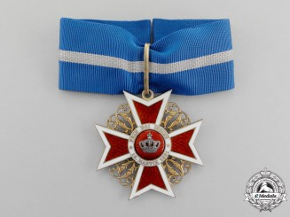 Romania. An Order of the Crown of Romania, Commander, Civil Division