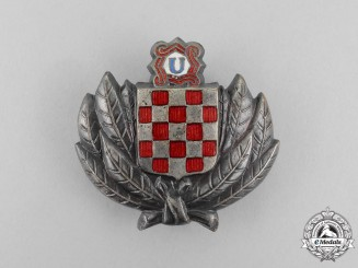 Croatia. A Second War Period Treasure Guard Badge