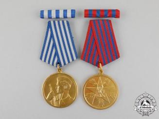 Yugoslavia. Two Socialist Yugoslavia Medals