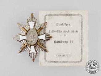 """A First War German """"Feld-Ehrenzeichen"""" Field Honour Badge in its Case of Issue"""