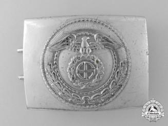 A National Socialist Motor Corps Belt Buckle