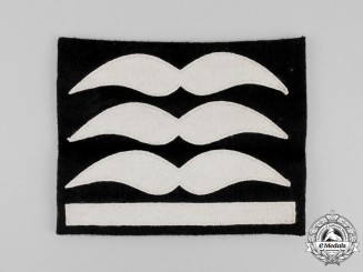 A Mint and Unissued Luftwaffe Hauptmann Uniform Rank Patch