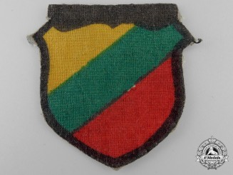 A Second War Lithuanian Arm Shield