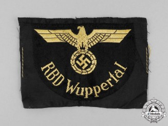 A Mint and Unissued Reichsbahn RBD Wuppertal Sleeve Eagle