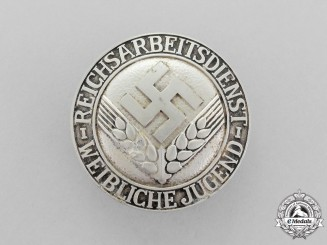 A RADwJ (National Labour Service Female Youths) Membership Brooch
